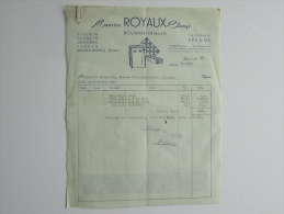 Cpa/pk 1957 Royaux - Claeys Bouwmaterialen - Belgique