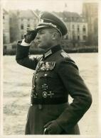 PHOTO ORIGINALE  1939/45 OFFICIER  ALLEMAND  Artillerie 2eme GUERRE  WEHRMACHT - Krieg, Militär