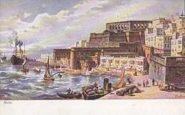 Malta - Art Perlberg - Serie Mittelmeer - Malta