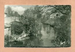 95 - VAL D´OISE - BRUNOY -   L'YERRES  :  AU FOND , LE VIADUC  - - Francia