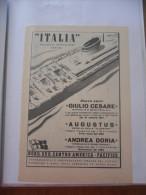 PUBBLICITà ADVERTISING NAVE ANDREA DORIA - Advertising