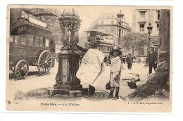 PARIS VÉCU - A La Wallace - FONTAINE  - Ed. L. J. & Cie, Paris - France