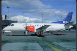 Saab 340 Air Botnia Airlines Aircraft SF340A Airlines Air SF 340 Avion Air Aviation SF-340 Airplane AirBotnia - 1946-....: Era Moderna