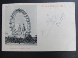 AK WIEN Prater 1898  // T4198 - Prater
