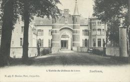 Zandhoven - Ingang Het Kasteel Van Lierre - 1904 ( Verso Zien ) - Zandhoven