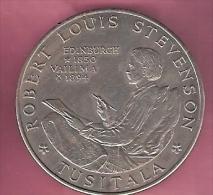 SAMOA TALA 1969 UNC DEATH OF ROBERT LOUIS STEVENSON