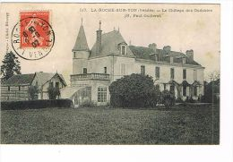 CPA (85 )La Roche Sur Yon - Château Des Oudairies- Mr Paul Guillerot  - (004) - La Roche Sur Yon
