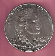 SAMOA TALA 1970 UNC CAPT. COOK VOYAGES
