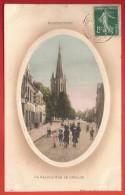 CPA Hazebrouck - La Grande Rue De L'Église - Hazebrouck