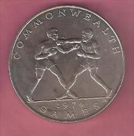 SAMOA TALA 1974 UNC BRITISH COMMENWEALTH GAMES BOXING