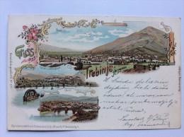 AK    BOSNA     BOSNIA     TREBINJE   LITHO    1900. - Bosnia And Herzegovina