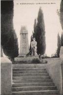 NISSAN (HERAULT) 10 LE MONUMENT AUX MORTS - Monuments Aux Morts