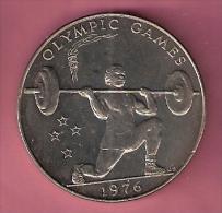 SAMOA TALA 1976 UNC WEIGHT LIFTER SPORTS