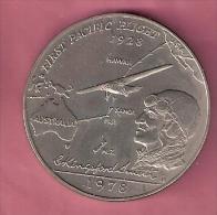 SAMOA TALA 1978 UNC FIRST TRANSPACIFIC FLIGHT