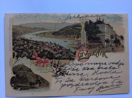 AK    BOSNA     BOSNIA     ZVORNIK    LITHO  1900 - Bosnia And Herzegovina