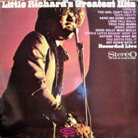 * LP *  LITTLE RICHARD'S GREATEST HITS -RECORDED LIVE ( Holland 1967 On EPIC EX-!!!) - Rock
