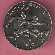 SAMOA TALA 1980 UNC OLYMPICS HURDLES