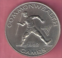 SAMOA TALA 1982 UNC COMMON WEALTH GAMES JAVELIN THROWER