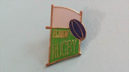 PIN´S- RUGBY - ELBEUF 76   - AVEC ATTACHE - Rugby