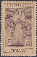 MACAU - ASSISTENCIA - AFINSA Nº 6 - MNH *** (3) - Neufs