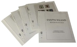 Lindner DT120b Germany Complete Offer BundesRepublic Germany - DT-Illustrated Album Pages Year 1949-2014 - Albums & Binders