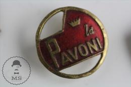 Old La Pavoni Advertising Logo  - Pin Badge #PLS - Marcas Registradas