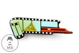 Vintage Paris TGV Train - Pin Badge #PLS - TGV