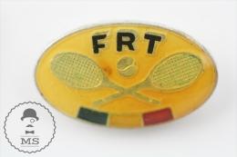 Romanian Tennis Federation - Pin Badge #PLS - Tenis