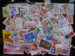 France Lot De 100TP Majoritairement Oblitéré 2 - Postzegels