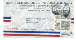 MX - GUDALAJARA  NACH ZÜRICH -BRIEF - Mexique