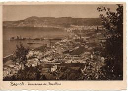 Campania-napoli-bagnoli Veduta Panorama Da Posillipo Anni/40/50 - Italia