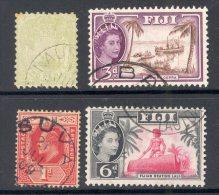FIJI, Postmarks Nausori, Ba, Suva, Lautoka - Fiji (...-1970)