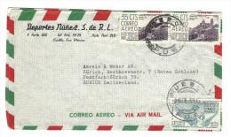 MX - PUE NACH ZÜRICH -BRIEF - Mexique