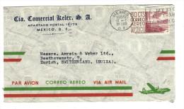MX - MEXICO   NACH ZÜRICH -BRIEF - Mexique