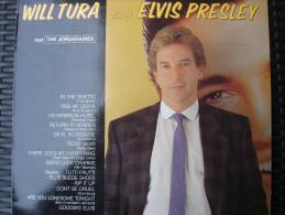 LP Will Tura Zingt Elvis Presley Met De Jordanaires Uitgave Topkapi - Rock