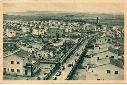 Sardegna-carbonia-carbonia Veduta Panorama Citta' Anni/40/50 Il Piu'giovane Comune D'italia - Carbonia
