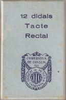 CAJA DE 12 DIDALS TACTE RECTAL DE LA COOPERATIVA DE CONSUM DEL SINDICAT DE METGES DE CATALUNYA - Cajas