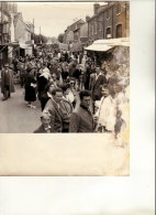 PHOTO FETE FORAINE KERMESSE A SAINTE ANNE LE 15 AOUT 1957 - Orte