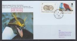 British Antarctic Territory 1993 Faraday Postcard Ca 30 Ja 93 Backside 3 Ca (see Descr) F3577) - Brits Antarctisch Territorium  (BAT)