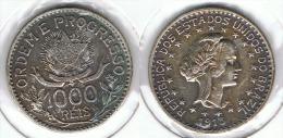 BRASIL 1000 REIS 1913 PLATA SILVER - Brasil