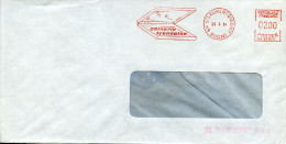 EMA Secap NA-29970 Gainerie Lyonnaise,boite,écrins De Rangement,69 St Laurent D'Agny,Rhone,lettre 29.6.1984 - Fabriken Und Industrien
