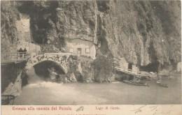 Lago Di Garda Cascata Del Ponale Fp V.1904 - Trento