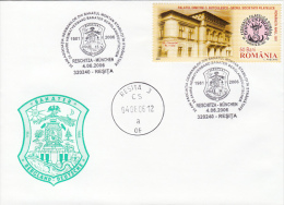 21738- GERMANS FROM BANAT REGION ASSOCIATION, SPECIAL COVER, 2006, ROMANIA - Lettres & Documents