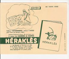 BUVARD  PUBILICITE  POUR  CAHIER   HERAKLES   ( A SSYRIE ) - Papel Secante