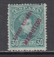 1903 - 1909   EDIFIL  Nº  8   / * /   -- BUEN CENTRAJE  -- - Marruecos Español