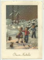 BUON NATALE  VIAGGIATA F. GRANDE - Weihnachten