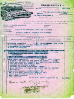 SEVESO-13-1-1929--DITTA CARLO MARZORATI-FABBRICA MOBILI IN OGNI STILI-FATTURA-VALORI FISCALI - 1900-44 Vittorio Emanuele III