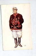 Carte Costume  Paysan Brod - Croatia