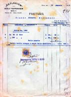 """VIENNA-12-1-1932-DITTA """"REFLEXION"""" DI ADOLF PAPPENHEIM-FATTURA-RAPPRESENTANZA -DITTA S. KLEIN-LIRE 5 - Österreich"""