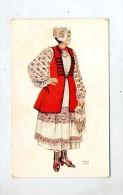 Carte Costume  Paysanne Sisak - Croatia